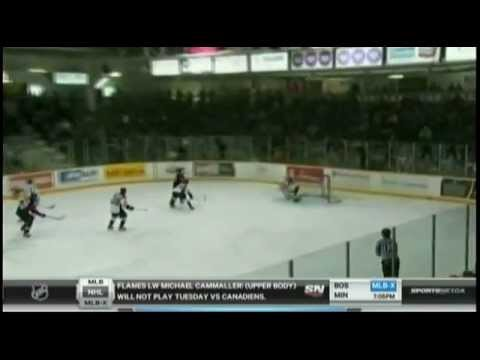 Sportsnet segment on the 'No Goalie Game' between...
